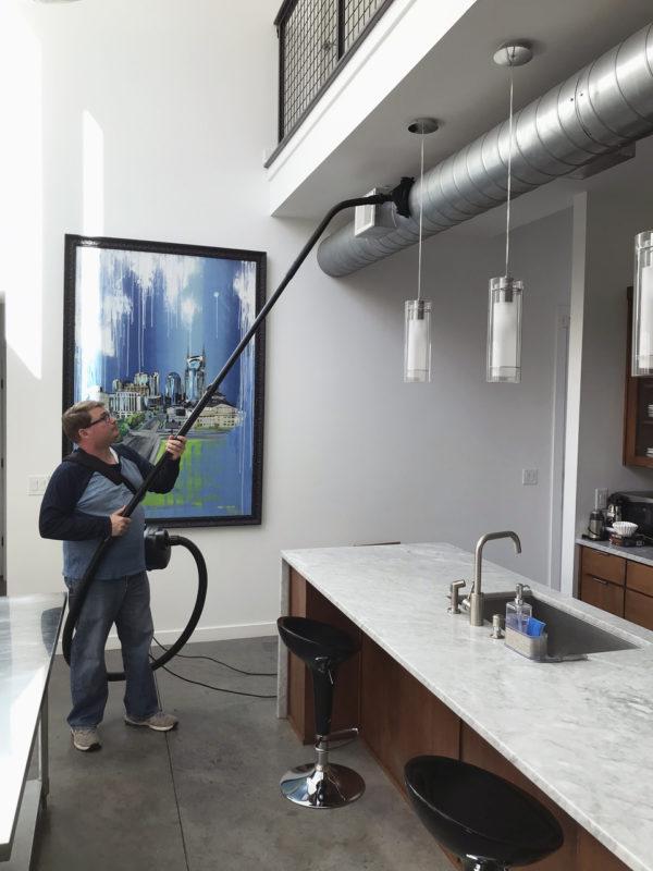 ventilation duct cleaning vacuum kit